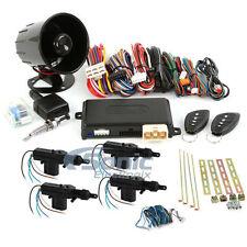 Encore E6 Remote Start Keyless Entry Car Alarm System w/ 4 Door Power Lock Kit