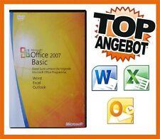 * Office 2007 Basic * ready für Windows 7, 8 und 10 * 32 + 64 Bit *