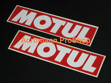 "2x 11"" 28cm MOTUL oil Decal Sticker brake kawasaki motogp 350Z gtr JGTC brz frs"