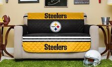 """NEW Steelers Reversible Furniture Protector for Love Seats, 75"""" x 88"""""""
