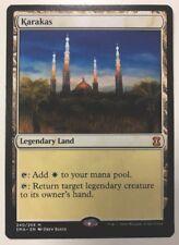 KARAKAS - NM MTG Land ENG Mythic Eternal Master White Legendary