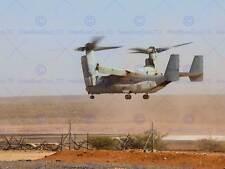 WAR AIR FORCE TRANSPORT HELICOPTER CHOPPER MV22B OSPREY PRINT BB3346A