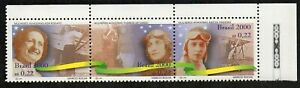 Brazil Stamps 2000 Mi#2995/97 Airplane. Women Brazilian Aviators - MNH