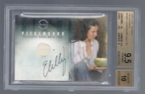 LOST Evangeline Lilly Kate Austin autograph auto costume card BGS 9.5  ANT-MAN