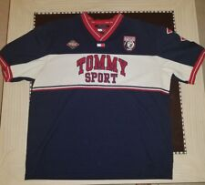 Vintage Tommy Hilfiger Athletics Jersey Spell Out Xxl Men's Tommy Sport 90s Vtg