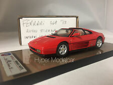 "AMR 1/43 FERRARI 348 TS 1989 RED ""LEATHER INTERIOR"""