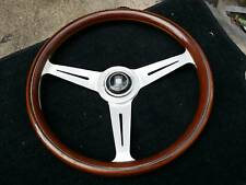 VINTAGE 1977 NARDI WOOD STEERING WHEEL BENZ SL BMW VOLK HONDA AE86 KE10 MX5.