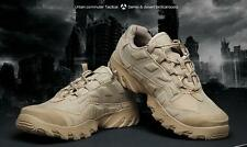 Hot Mens Lace Up Forces Military Leather Army Ankle Boots Shoes sz