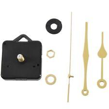 20x(Quartz Clock Movement Mechanism Gold Hands DIY Repair Parts Kit E5U1