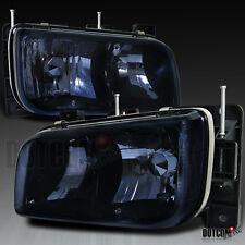 Euro Dark Smoke 1999-2000 Cadillac Escalade Crystal Headlights GMC Yukon Denali