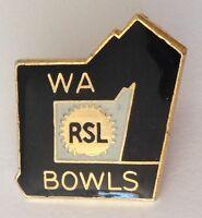 Western Australia RSL Bowling Club Badge Pin Rare Vintage (M15)