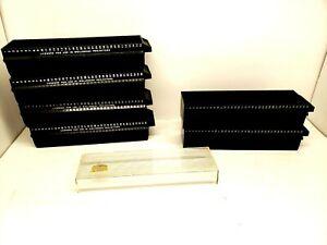 4  Revere Automatic Slide Magazine File Tray Holds 36 Slides & 2 yankee