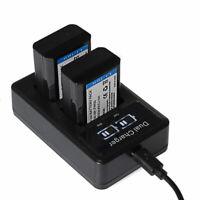 NP-FW50 Battery&Charger for Sony a7 a7s a7r α7 α7s α7r Alpha 7 7s 7r DSC-RX10 II
