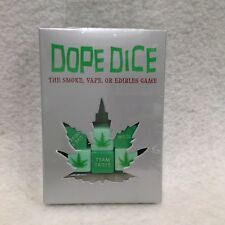 Dope Dice Game Ez 2-12 players 6 die Adult Party Gag Gift Bar Guy Card Night 420