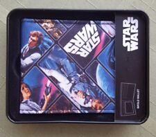 New Boxed Star Wars Licensed Full Color Graphics Collage Print Bi-Fold Wallet