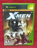 X-Men Legends II: Rise of Apocalypse 2 Microsoft Xbox OG Game Complete Working