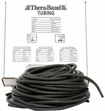 Thera-Band Resistive Exercise Tubing - 7.5m Special Strong, Black UK POST FREE