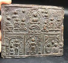 Near Eastern Ancinet Old Copper Excellent MONKS Art Writing & Genuine Symbols