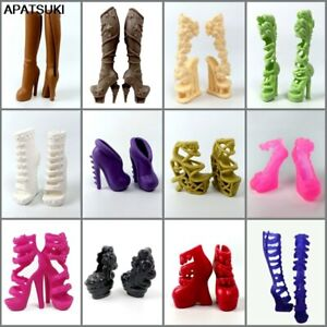Fashion Doll Shoes for Monster High Doll High Heel Shoes Dolls Accessories Boots