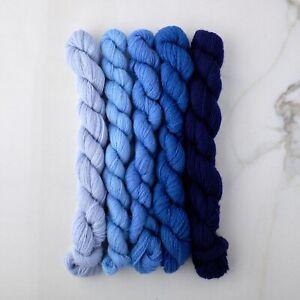 Appletons Crewel Wool Yarn – Cornflower 461-465