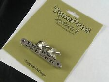 Tone Pros System II NVR2/N Locking ABR-1 Replacement for Gibson Nashville Nickel