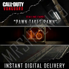 Call of Duty Pawn Takes Pawn - Exclusive Vanguard Warzone Calling Card