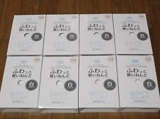 daiso japan Soft clay Lightweight Modeling Air Dry samon White f/s 8 Pack set