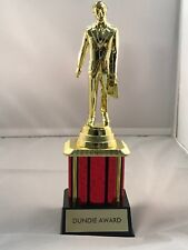 "Dundie Trophy Award The Office TV Dunder Mifflin Dundee 10 1/2"" Dunde NEW"