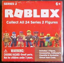 2017 ROBLOX MYSTERY BOX SERIES 2 FIGURE! EXCLUSIVE CODE! MINT/SEALED! UNOPENED!