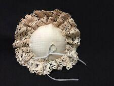 Vintage Beautiful Round Lace Pin Cushion