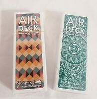 2x Air Deck 3.0 Playing Cards Classic Unopened