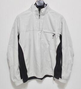 NIKE GOLF STORM-FIT Jacket - Men's Size M - Windbreaker Lightweight Coat 1/4 Zip