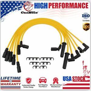 8MM Spark Plug Wire For Chevy Blazer S10 Jimmy Savana Express Hombre V6 4.3L USA