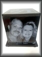 Original Handmade Cremation Urn Human Custom Engraved 150 CU Inch Father Mother