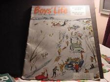 Vintage BOYS' LIFE Magazine-January 1962 w/Peter Van Scozza Cover-After the Snow