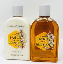 Crabtree & Evelyn English Honey & Peach Blossom Body Wash & Lotion Discontinued