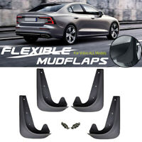 Front Rear Mudguards Guards Car Mudflaps Contour Mud Flaps Moulded For Volvo