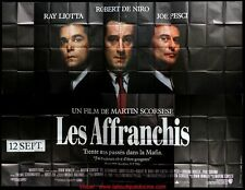 LES AFFRANCHIS Affiche Cinéma GEANTE 4x3 WIDE Movie Poster MARTIN SCORSESE