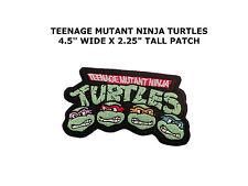 GREEN NINJA TURTLES Cartoon Teenage Embroidered Iron / Sew On Jacket Vest Patch