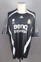 Real Madrid Trikot Gr. XL Adidas Away BenQ Siemens Shirt Jersey 2006-07 LFP