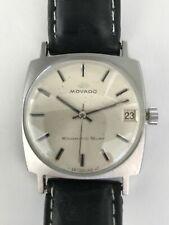 Vintage Mens Movado Kingmatic Surf Sub-Sea Wrist Watch