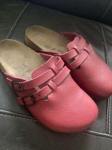 Birkenstock Birki's Kay Slides Mules Clogs Women's Size 38
