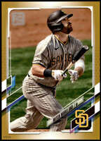 Mitch Moreland 2021 Topps 5x7 Gold #38 /10 Padres