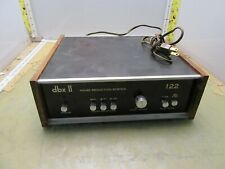vintage dbx Ii noise reduction system 122 [4*P-8]