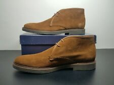Peter Millar Chukka Brown Suede Mens Boots Size 9 MF18RF06 MSRP $295