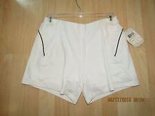 Wilson Shorts Girls  Youth XL,JR Knit,Great Quality, White W/Black Trim