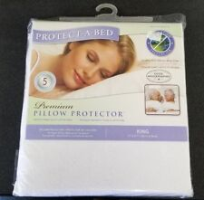 Protect-A-Bed Premium Pillow Protectors King