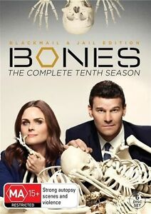 Bones : Season 10 (DVD, 2015, 6-Disc Set) Region 4 - NEW+SEALED