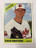2015 Topps Heritage Baseball Zach Britton Baltimore Orioles Card #6