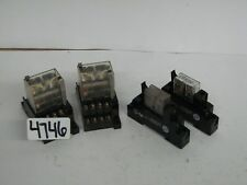 Allen Bradley 700HK36A1 700HN121 5 Pin Omron LY4N-D2 14 Pin Relays Din Rail